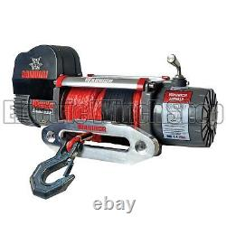 Warrior Samurai 12000 12v Next Generation V2 Electric Winch with Synthetic Rope