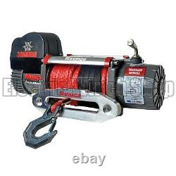 Warrior Samurai 9500 High Speed 12v V2 Electric Winch with Synthetic Rope