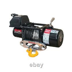 Warrior Spartan 5000 12v Electric Winch With Synthetic Rope 50spa12