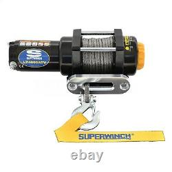 Westin Superwinch LT4000SR Synthetic Rope Electric Winch Universal Fitment