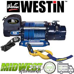 Westin Superwinch Talon 18SR Synthetic Rope Electric Winch Universal Fitment