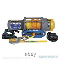 Westin Superwinch Terra 45SR Synthetic Rope Electric Winch Universal Fitment