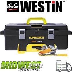Westin Superwinch Winch2Go SR Synthetic Rope Electric Winch Universal Fitment