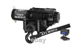 Winch Kit 2500 lb For Can-Am Renegade 570 XMR 2017-2021 (Synthetic Rope)