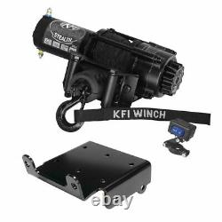 Winch Kit 3500 lb For Polaris RZR PRO XP 4 2020-2021 (Synthetic Rope)
