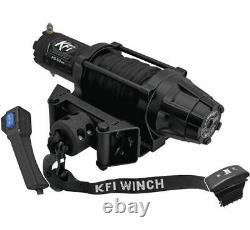 Winch Kit 5000 lb Wide For Kubota Sidekick 850 2018-2020 (Synthetic Rope)