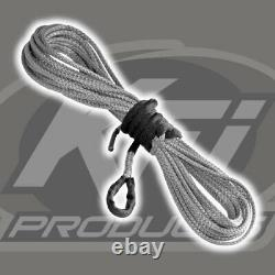 Winch Kit 5000 lb Wide For Polaris RZR XP 4 1000 2014-2021 (Synthetic Rope)