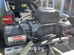 Winchmax 13,500 electric trailer winch with synthetic rope + waterproof cover