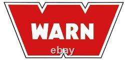 ZEON 10-S 10000 WARN Electric Winch Hawse Fairlead 100' 3/8 synthetic rope 89611