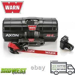 101130 Warn Axon 35-s Powersport Utvatv Treuil Électrique Avec Corde Synthétique 50ft