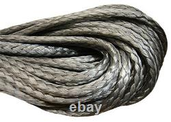 10mm Dyneema Sk75 Synthétique 12-strand Winch Rope X 30m Avec Hook Off Road Vtt