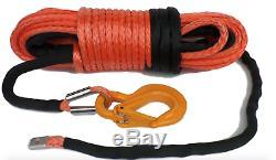 12mm Câble Du Treuil Synthétique 13500kg Contrainte De Rupture Hors Route De Haute Qualité Uhmwpe