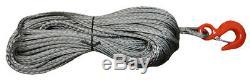 12mm Dyneema Sk75 Synthétique 12 Brins Treuil Corde X 30 M Avec Crochet Off Road Vtt