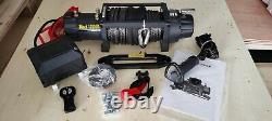 12v 12000lb Winch Off Road Recovery Synthetic Rope