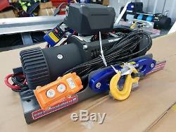 13500lb Winch De Récupération Camion Léger Synthetique Corde £ 320,00 Ttc