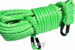 1/2inch Câble De Treuil Synthétique Uhmwpe Extension De Corde De Treuil Uhmwpe Remorquage De Corde