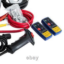 300013500lbs Treuil Électrique En Acier / Corde Synthétique 12v Vtt 4x4 Bateau De Récupération