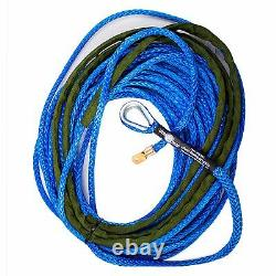 3/8 X 125' Amsteel Bleu Ligne Principale Synthétique Treuil Corde Câble 8274 Suv Jeep Buggy