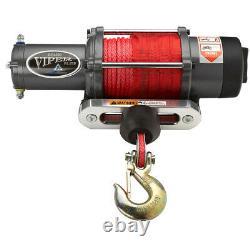4500lb Viper Elite Wide Spool Winch Avec Choix De Corde Synthétique De 5 Couleurs