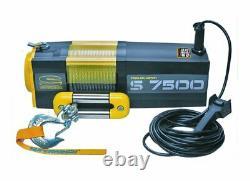 7500lb Treuil Électrique De Récupération Superwinch S7500 24v Rope Synthétique. Garantie