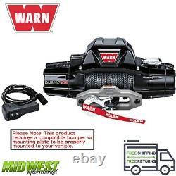 89306 Warn Zeon 10-s 10 000 Lbs Treuil Électrique Auto-récupéré Avec Corde Synthétique