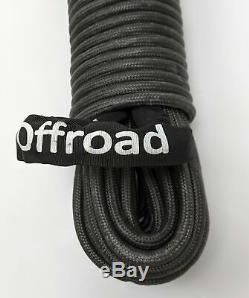 A. R. E. Offroad 7/16 Po X 100 Pi Synthétique Treuil Ligne Corde Sont Spidersilk