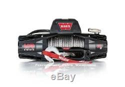Avertir Vr Evo 10-s Usage Standard Winch Corde Synthétique Aluminium Chaumard 10000 Lb