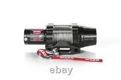 Avertissez 101020 Vrx 25-s Powersports Winch Avec 2500 Lb Capacité 50' Corde Synthétique