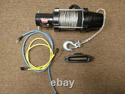 Avertissez 101040 Vrx 45-s Powersport Winch Avec Synthetic Rope 4500 Lbs Free Shipping
