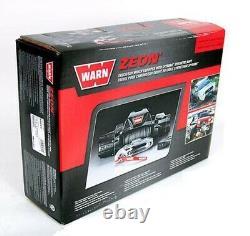 Avertissez 89611 Zeon 10-s Winch Avec Synthetic Rope 10000 Lb. Capacité