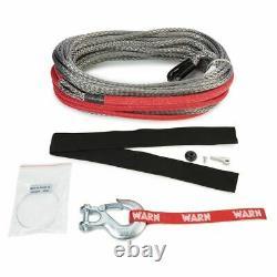 Avertissez 96040 100 Ft Spydura Pro Synthetic Rope Évalué Pour 16.500 Treuils Lb