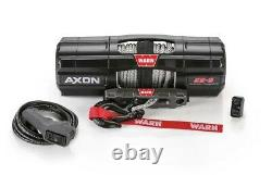 Avertissez Axon 55-s 5500 12v Winch Synthetic Wire Rope Offroad Atv Utv Sxs 4 Wheeler