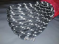Câble Synthétique De Corde De Treuil 3/8 X 100' 30.000 Lb Capacité Noire