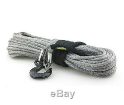 Corde Synthétique Winch, 8000 Lb Withhook Et Manches