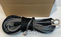 Corde Treuil Synthétique 11.5mm X 27.5m, Récupération D'accessoires Dyneema Sk75