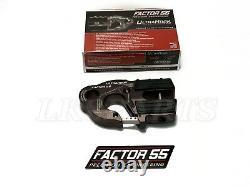 Facteur 55 Crochet De Treuil Gris Ultrahook Pour Jusqu'à 3/8 Câble De Treuil Ou Corde Synthétique