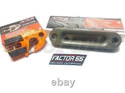 Facteur 55 Crochet De Treuil Orange Ultrahook & Fairlead Pour Combo À Corde Synthétique