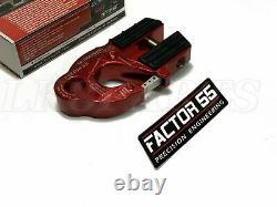 Facteur 55 Crochet De Treuil Rouge Ultrahook Pour Jusqu'à 3/8 Câble De Treuil Ou Corde Synthétique