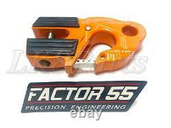 Facteur 55 Orange Ultrahook Winch Hook Pour Jusqu'à 3/8 Câble Treuil /corde Synthétique