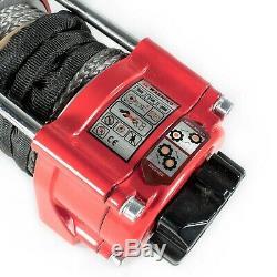 Furtivité 3500lb / 1588 KG 12v Treuil Électrique Avec Corde Synthétique