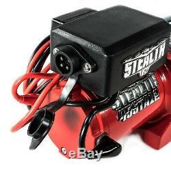 Furtivité 4500lb / 2040 KG 12v Treuil Électrique Avec Corde Synthétique