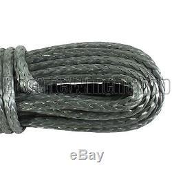 Guerrier Black Edition Corde De Treuil Synthétique Ligne 10 MM X 30 M Avec 8600 KG Mbl