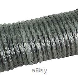 Guerrier Black Edition Corde De Treuil Synthétique Ligne 11 MM X 30 M Avec 10800 KG Mbl