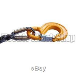 Guerrier Black Edition Corde De Treuil Synthétique Ligne 12mm X 45m Avec 12000 KG Mbl