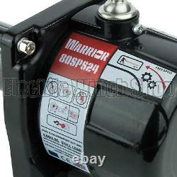 Guerrier Spartiate 8000lb De Treuil Électrique, Corde Synthétique, 4x4, Nouveau