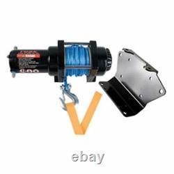 Kawasaki Teryx Teryx4 800 20142019 Tusk Winch Avec Corde Synthétique Et Plaque De Montage