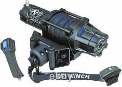 Kfi Produits Assault Série Winch As-50 5000 Lb Avec Câble Synthétique Corde Vtt Utv
