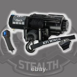Kfi Produits Stealth Winch 4500 Lb Rope De Câble Synthétique Atv Utv Dash Switch