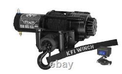 Kit Treuil 3500 Lb Pour Courant Kubota Rtv-x900 (rope Synthétique)