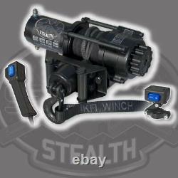 Kit Treuil 3500 Lb Pour Polaris Scrambler 850 (xp) 2013-2020 (corde Synthétique)